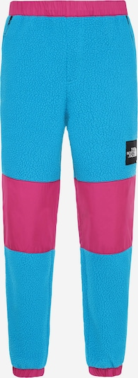 THE NORTH FACE Jogginghose 'Denali' in himmelblau / pink, Produktansicht