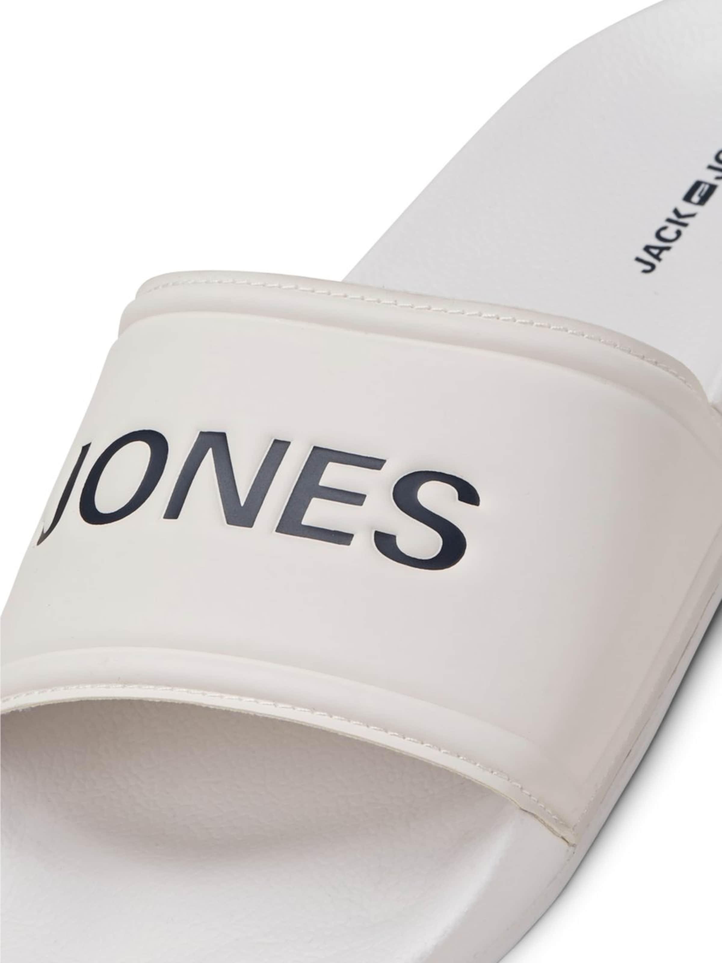 Jackamp; Pantoufle Jones En En Jackamp; Jones Pantoufle Blanc Blanc CBordxe