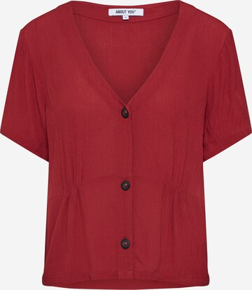 ABOUT YOU Shirt 'Jarina ' in Red