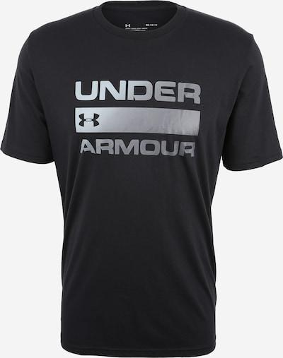 UNDER ARMOUR T-Shirt 'TEAM ISSUE' in schwarz / silber, Produktansicht
