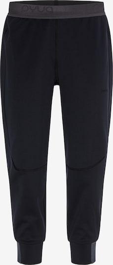 PYUA Lange Ski- Unterhose 'Shelter-Y' in schwarz, Produktansicht