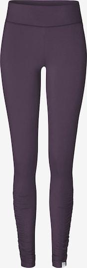 YOGISTAR.COM Leggings 'ala' in aubergine, Produktansicht