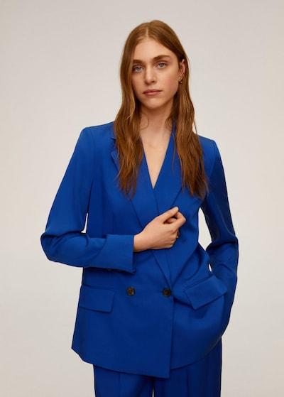 MANGO Blazer 'monaco' in blau, Modelansicht