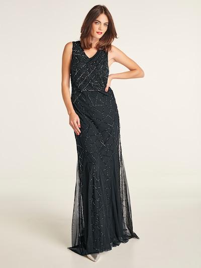 heine Robe de soirée 'Abendkleid besetzt mit dekorativen Pailletten' en noir: Vue de face