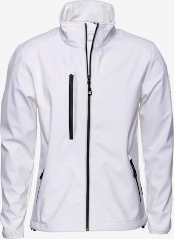 CODE-ZERO Softshell-Jacke 'HALYARD' in Weiß