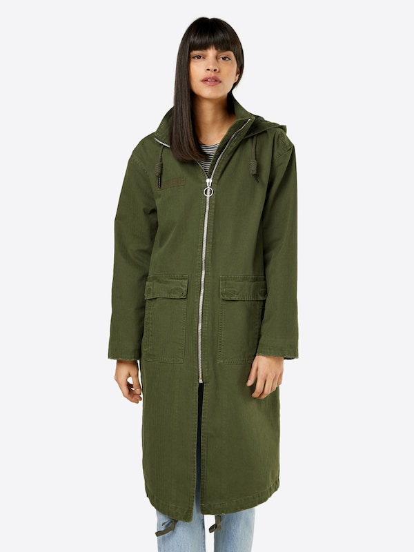 Review Mantel 'LONG ARMY COAT'