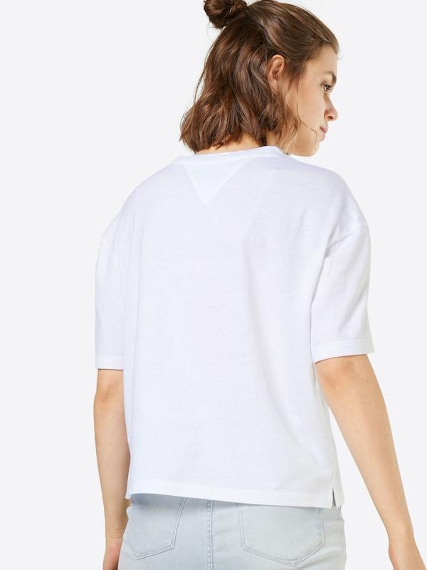 Tommy Jeans Crop T-Shirt 'FLORAL LOGO'