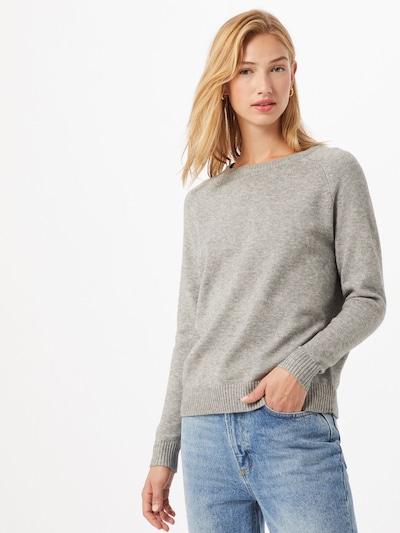 ONLY Pullover  'Lesly Kinks' in grau, Modelansicht