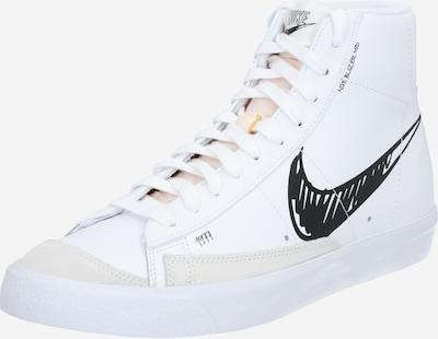 Nike Sportswear Trampki wysokie 'BLAZER MID VNTG '77' w kolorze czarny / białym, Podgląd produktu