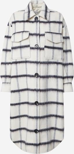 Palton de primăvară-toamnă 'Henrietta' EDITED pe gri metalic / alb, Vizualizare produs