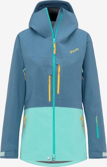 PYUA Skijacke 'Source' in blau / aqua, Produktansicht