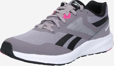 Sneaker de alergat REEBOK pe gri / gri închis / roz / negru / alb, Vizualizare produs