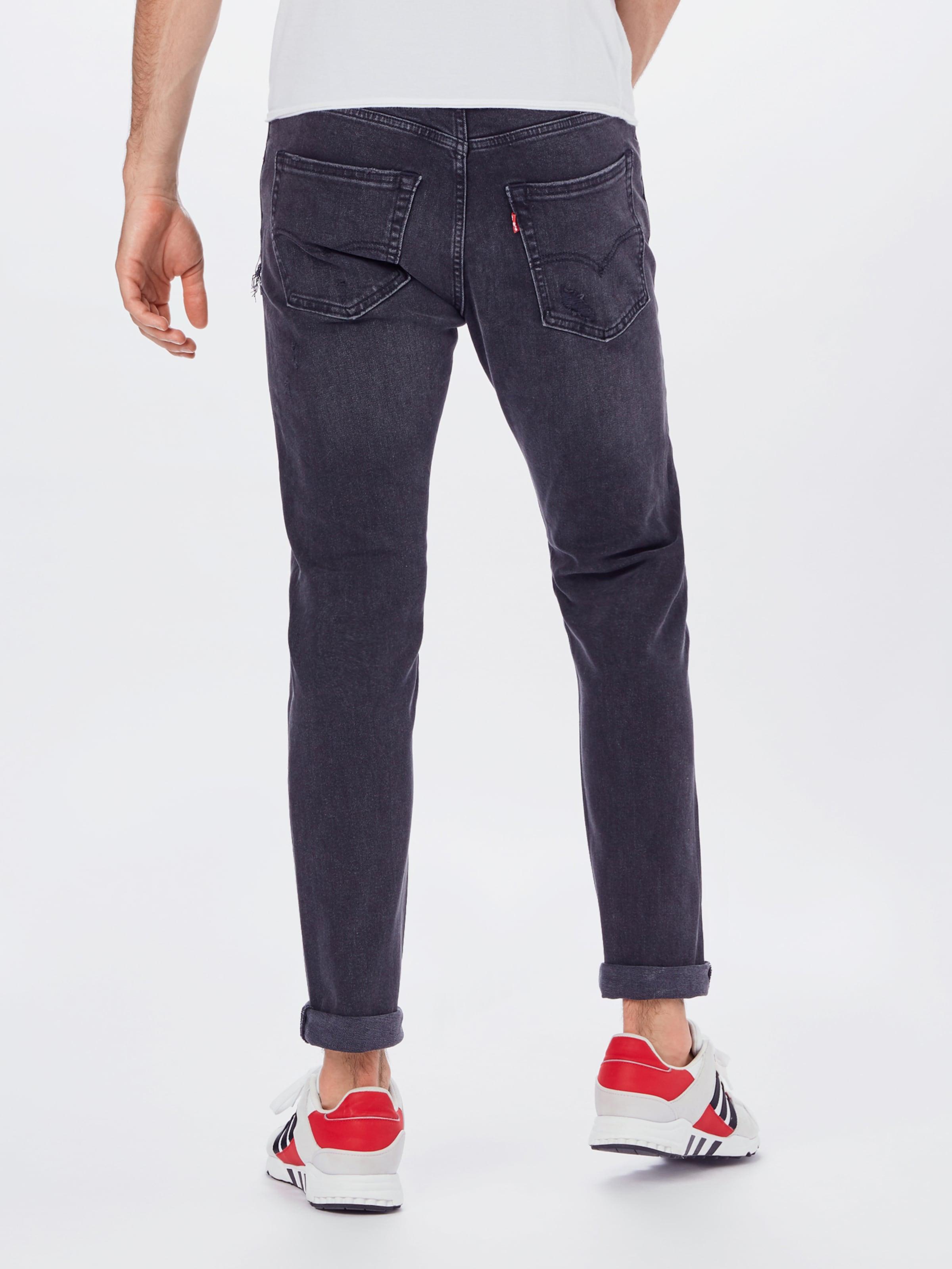 LEVI'S Jeans i svart denim