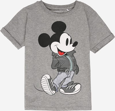NAME IT T-Shirt 'MICKEY' in graumeliert / mischfarben, Produktansicht