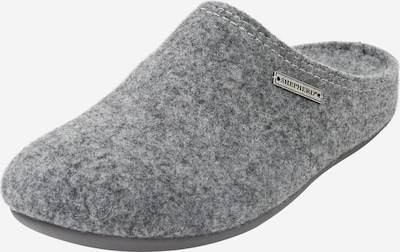 SHEPHERD OF SWEDEN Slipper 'CILLA' in graumeliert: Frontalansicht