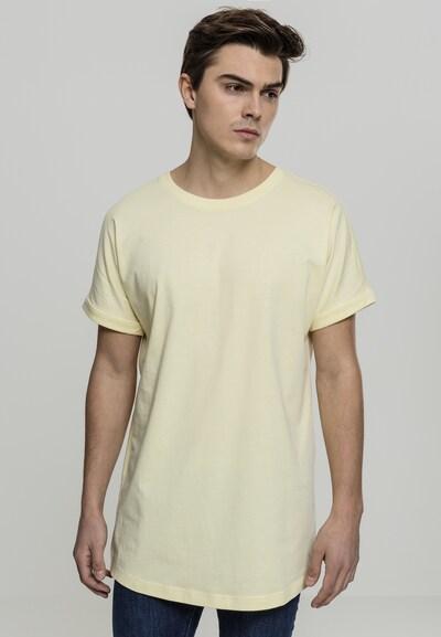 Urban Classics Shirt in pastellgelb: Frontalansicht