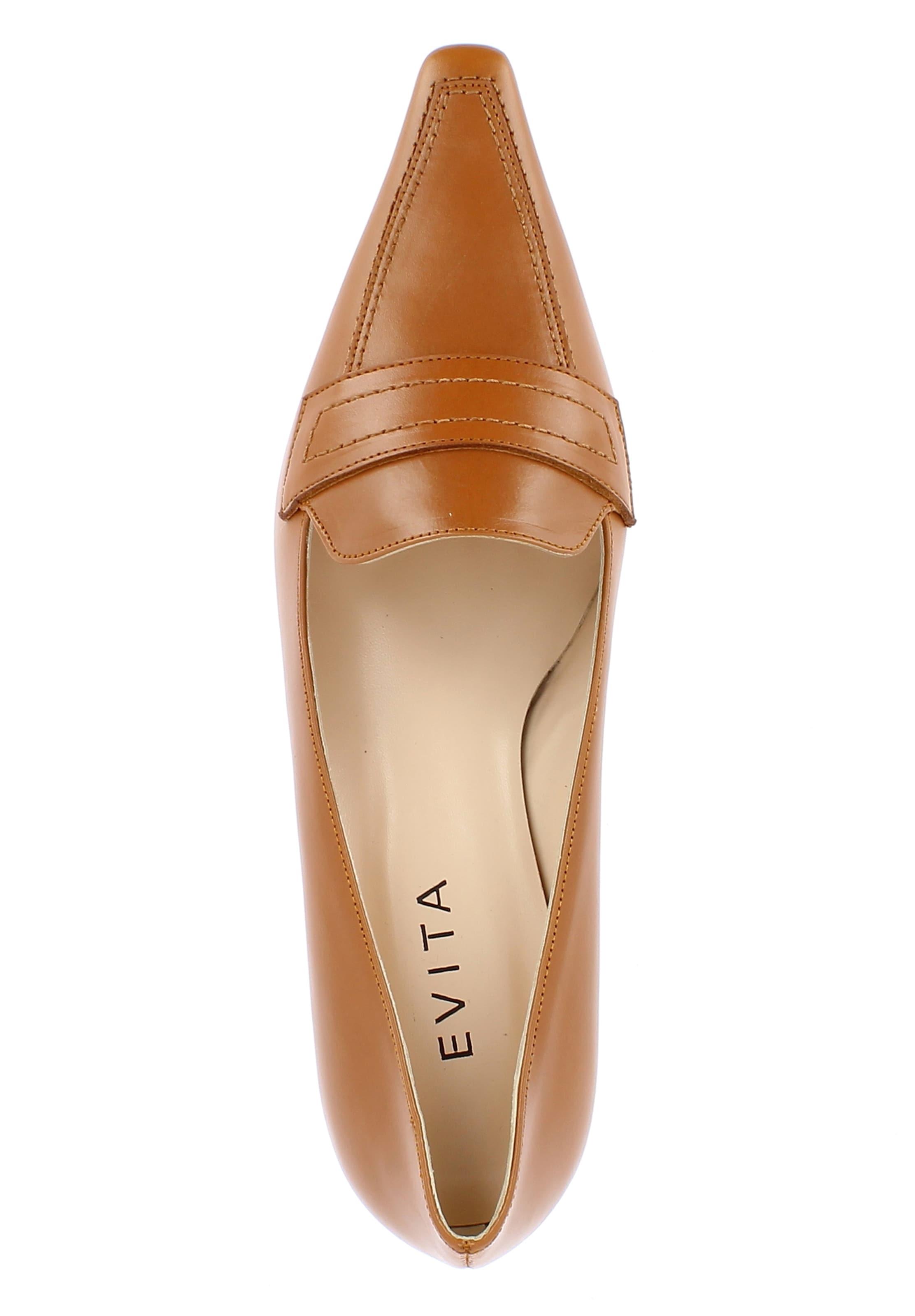 En En Escarpins Cognac Evita Escarpins Evita 8ywOmvNPn0