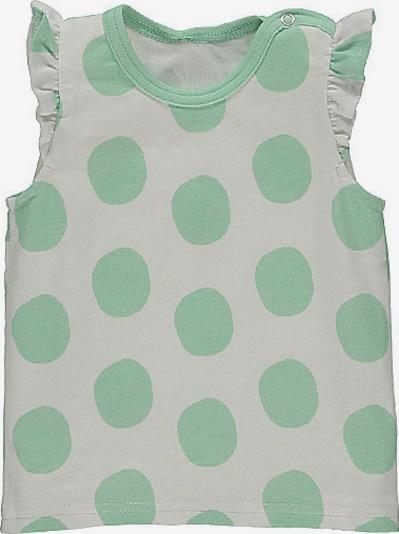 lamino T-Shirt in hellgrau / hellgrün, Produktansicht