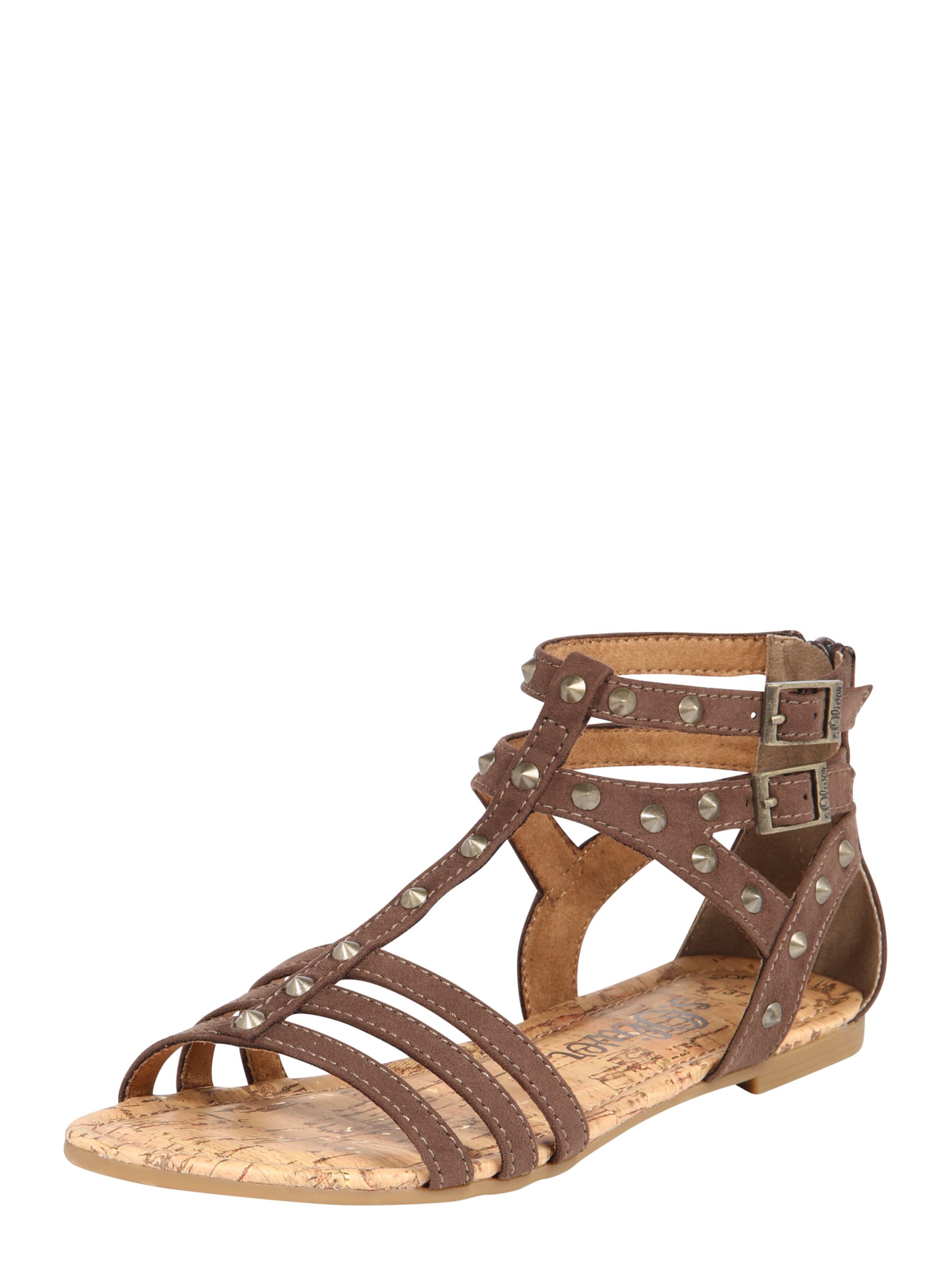 s.Oliver RED LABEL Römersandale Verschleißfeste billige Schuhe