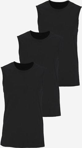 Maier Sports Shirt in Schwarz