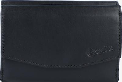 Esquire Portemonnee 'New Silk' in de kleur Zwart, Productweergave