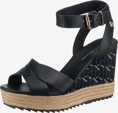 TOMMY HILFIGER Sandalette in nachtblau, Produktansicht