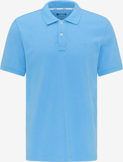 MUSTANG T-Shirt ' Poloshirt ' in blau, Produktansicht