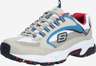 SKECHERS Sneaker 'STAMINA - CUTBACK' in beige / blau / offwhite, Produktansicht