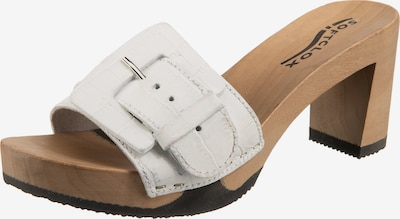 SOFTCLOX Lawinia Pantoletten in weiß, Produktansicht