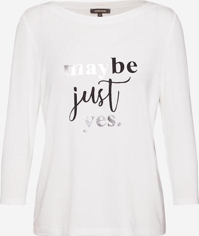 MORE & MORE Shirt in silber / weiß, Produktansicht