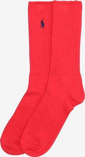 POLO RALPH LAUREN Chaussettes 'ACTIVE SLACK-SOCKS-SINGLE' en rouge, Vue avec produit