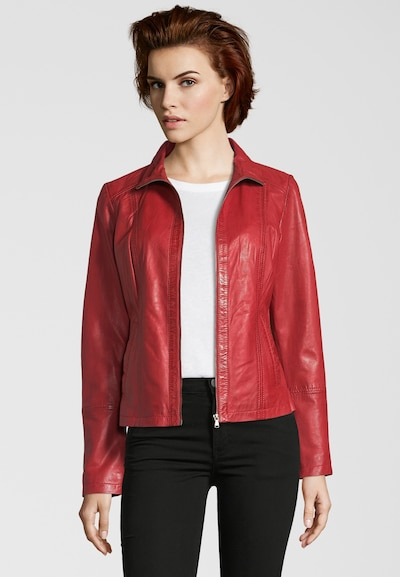 7ELEVEN Tussenjas 'NORMA' in de kleur Rood, Productweergave