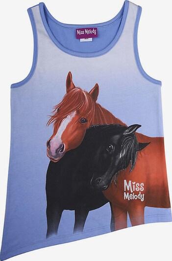 Miss Melody Miss Melody Top in royalblau / mischfarben, Produktansicht