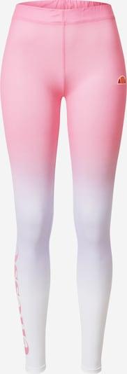 ELLESSE Leggings 'Solos 2' en mélange de couleurs / rose / blanc, Vue avec produit