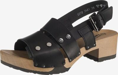 SOFTCLOX Sandaletten 'Pamela' in schwarz, Produktansicht