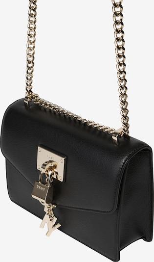 DKNY Чанта за през рамо тип преметка 'ELISSA' в злато / черно, Преглед на продукта