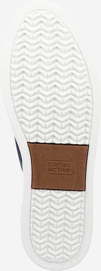 CAMEL ACTIVE Sneaker 'Racket' in marine / braun: Ansicht von unten