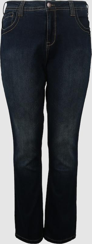 Zizzi Jeans in dunkelblau  Bequem und günstig