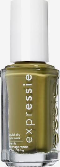 essie Nagellack 'Expressie' in oliv, Produktansicht
