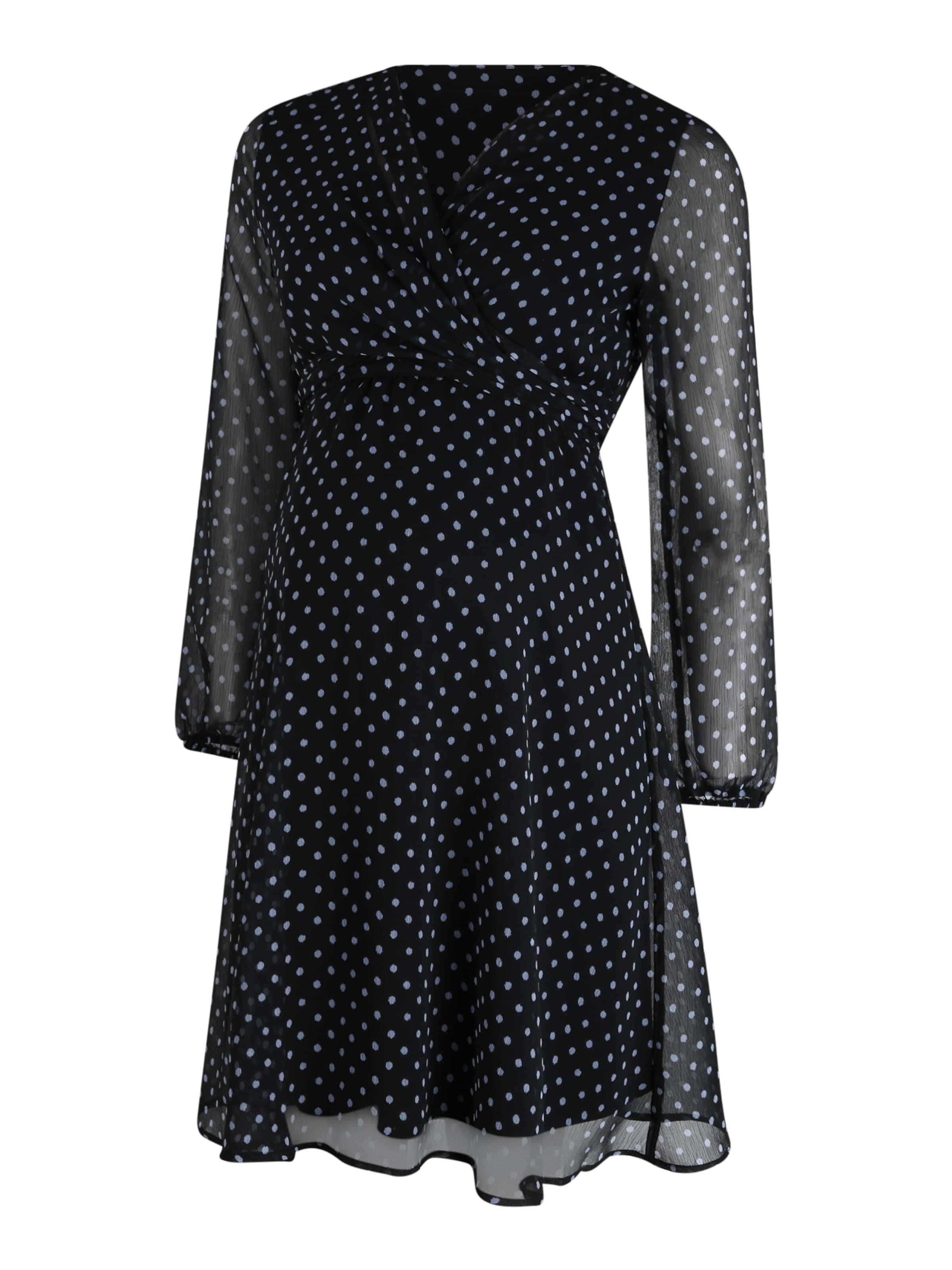 Attesa Skjortklänning 'AB INCROCIO' i nattblå / ljusblå