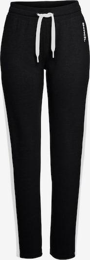 BENCH Pantalon en noir / blanc, Vue avec produit