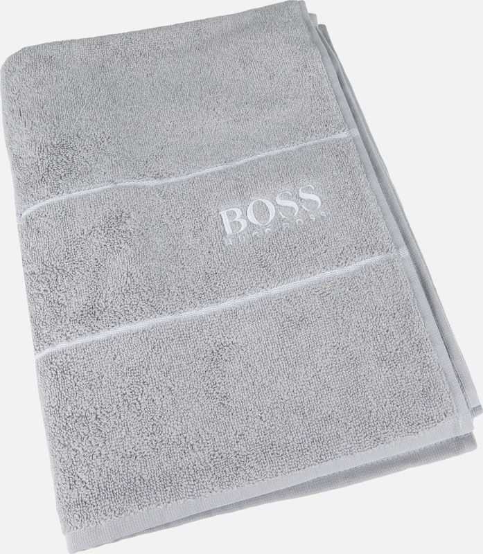 BOSS Home Badetuch 'Plain' in grau, Produktansicht
