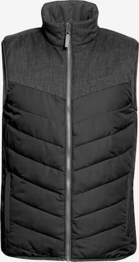 Maier Sports Weste 'Gero Vest' in dunkelgrau, Produktansicht