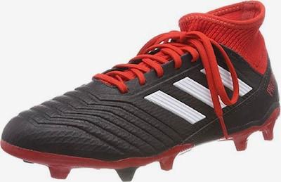 ADIDAS PERFORMANCE Fußballschuh 'Predator 18.3' in rot / schwarz / weiß: Frontalansicht