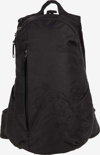 JACK WOLFSKIN Rucksack 'Ancona' in schwarz, Produktansicht