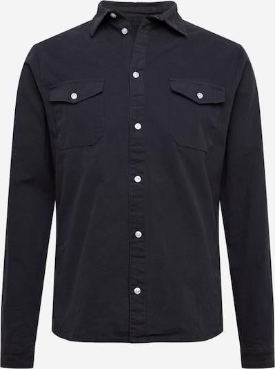 Denim Project Overhemd 'LUIS' in de kleur Navy, Productweergave