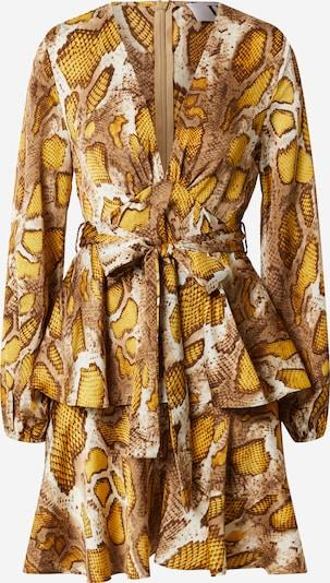 Forever Unique Kleid in beige / creme / gelb, Produktansicht