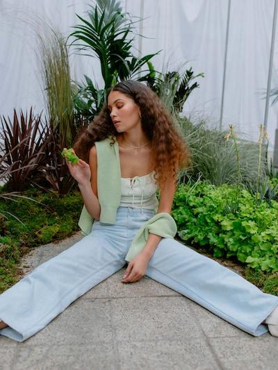Jeans 'Jasmin' LeGer by Lena Gercke pe albastru deschis, Vizualizare model