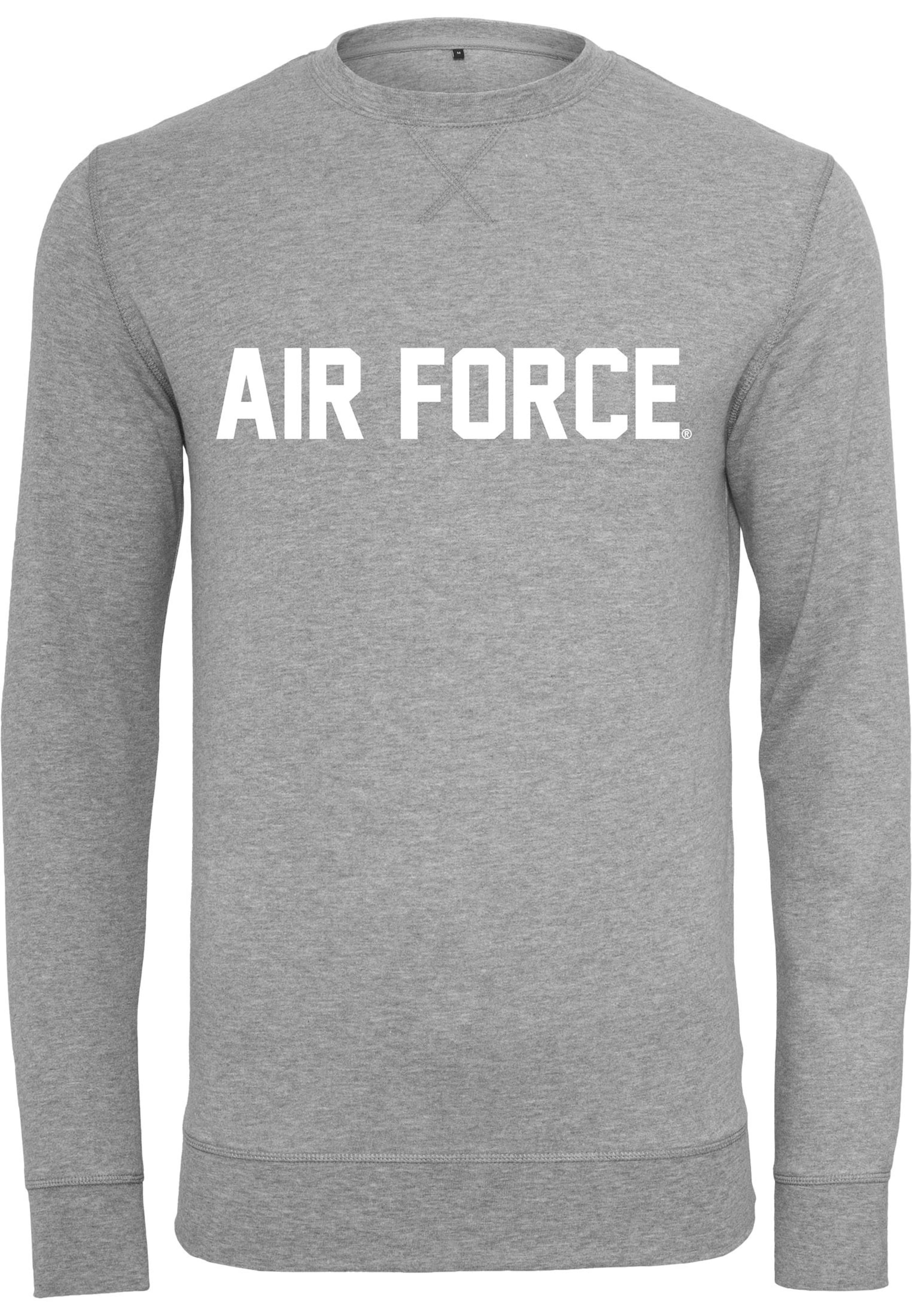 Force Tee Mister GraumeliertWeiß 'air Lettering' Crewneck In Rqjc35L4SA