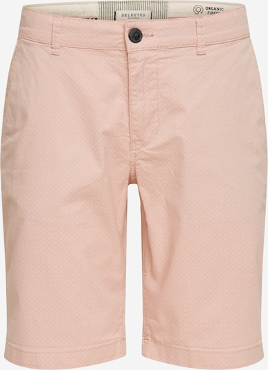 Pantaloni SELECTED HOMME pe roz: Privire frontală